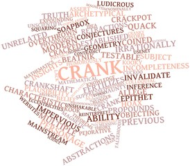 Word cloud for Crank