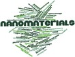 Word cloud for Nanomaterials
