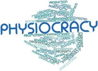 Word cloud for Physiocracy