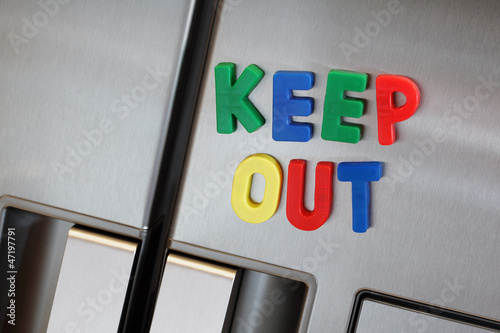 Keep out the refrigerator