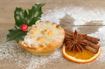 Mince pie and spice
