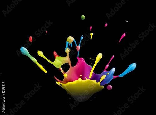 Fototapeten,splash,explosion,berry,bunt