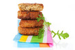 Luxurious falafel background.