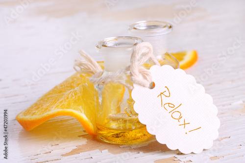 Relax! - Entspannende Massage mit Orangenöl