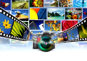 Digital Photography Concept
