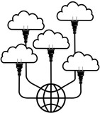 Plug technology into Global Cloud Computing