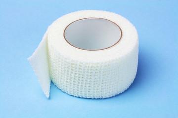 White Elastic Medical Bandage