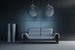 Design Chair in a modern room | Design Interior Architecture