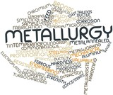 Word cloud for Metallurgy poster