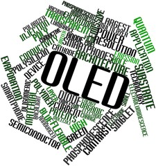 Word cloud for OLED