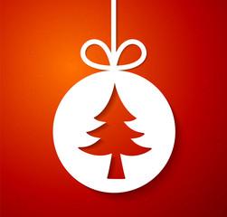 Christmas applique background