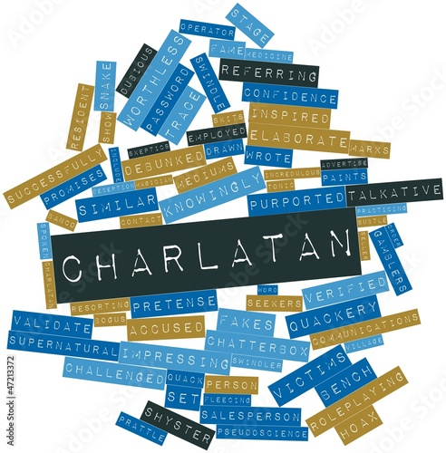 Word cloud for Charlatan