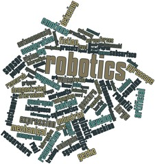 Word cloud for Robotics