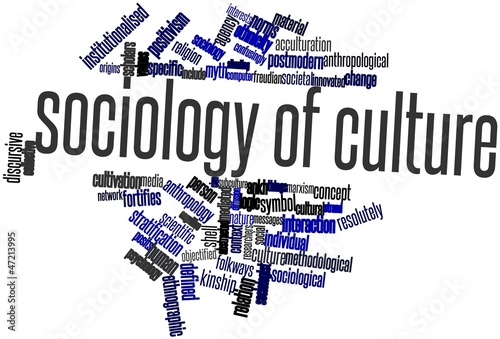 Word cloud for Sociology of culture