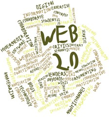 Word cloud for Web 2.0