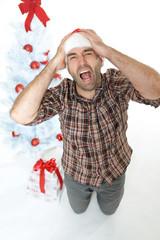 Ausrasten an Weihnachten