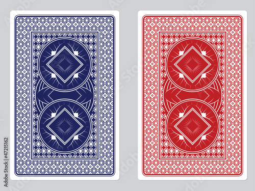 Playing Card Back Designs - 47215162