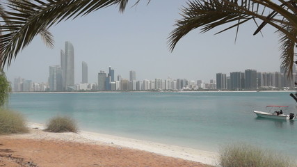 Boatdrive in Abu Dhabi