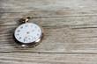 Leinwanddruck Bild - Old pocket watch - Alte Taschenuhr