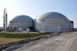 Biogasanlage fertig neu gebaut