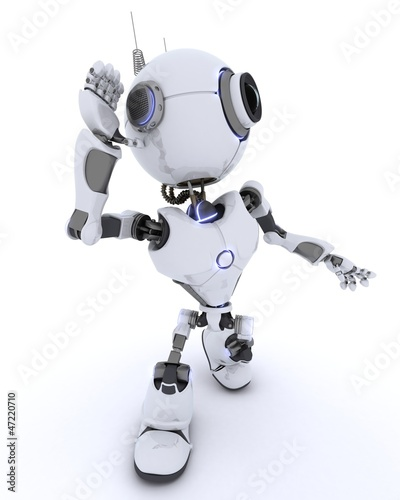 Robot listening