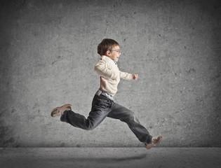 Running Child