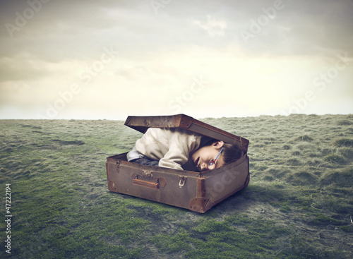 Child in the Suitcase