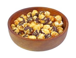 Carmel Popcorn Sprinkles in Bowl