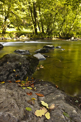 The river Barle in Exmoor, Somerset.