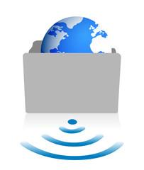 folder glove wifi