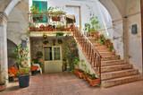Historical house. Gallipoli. Puglia. Italy. - 47225733