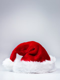 Voucher for christmas with Santa hat