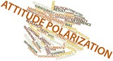 Word cloud for Attitude polarization