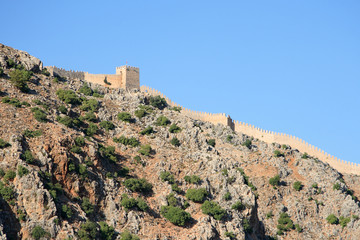 Alanya fortress, Turkey