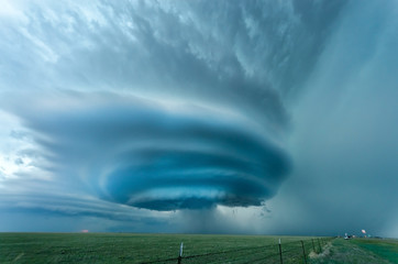 "Supercell ""Vega"" in Texas, May 2012"