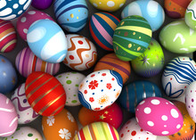 "Постер, картина, фотообои ""Easter Background"""