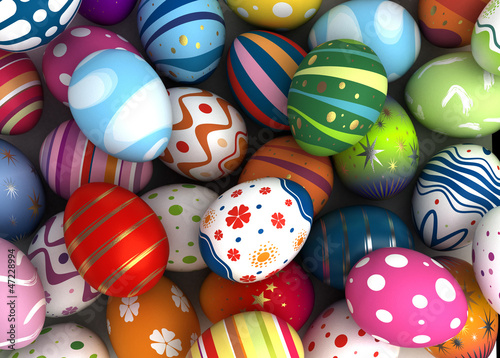 canvas print picture Easter Background