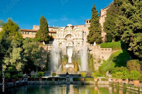 Fontane del Nettuno e dell' Organo at Villa D'este - Roma - 47230172