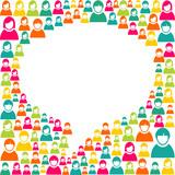 Speech bubble marketing campaign
