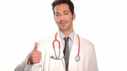 doctor giving the thumbs-up