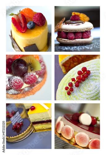 Fototapeta Gâteau, dessert, pâtisserie, gastronomie, cuisine, sucre