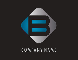 B business logo