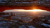 Mesa Arch at Sunrise in Canyonlands