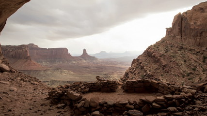 False Kiva time-lapse in Canyonlands, Utah