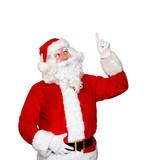 Weihnachtsmann freigestellt