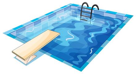 a swiming pool