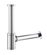 Chrome aluminum faucet waste water draining tube