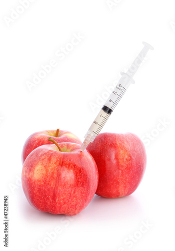 Apple with Needle