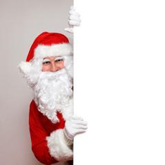 Santa mit Textfreiraum