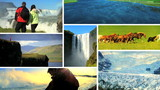 Montage Images Natural Beauty, Iceland